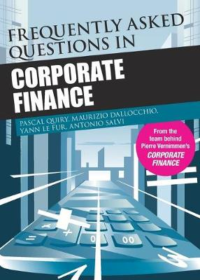 Frequently Asked Questions in Corporate Finance (Paperback)