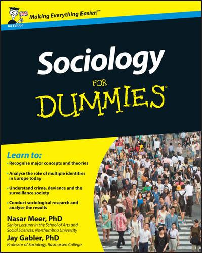 Sociology For Dummies (Paperback)