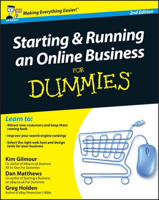 Starting and Running an Online Business For Dummies (Paperback)