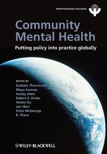 Cover Community Mental Health: Putting Policy Into Practice Globally - World Psychiatric Association