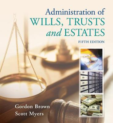 Administration of Wills, Trusts, and Estates (Paperback)
