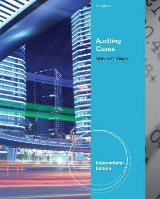Auditing Cases, International Edition (Paperback)