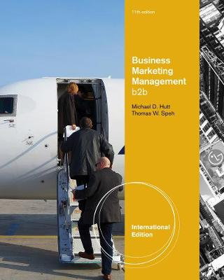 Business Marketing Management: B2B, International Edition (Paperback)
