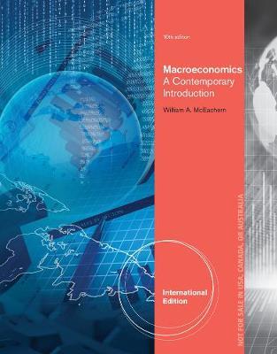 Macroeconomics: A Contemporary Approach, International Edition (Paperback)