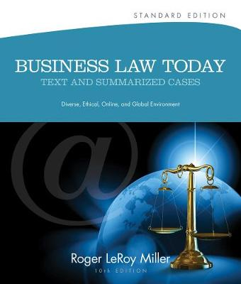 Business Law Today, Standard: Text and Summarized Cases (Hardback)