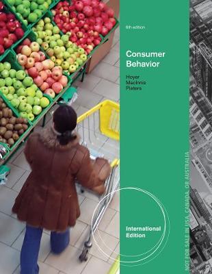 Consumer Behavior, International Edition (Paperback)