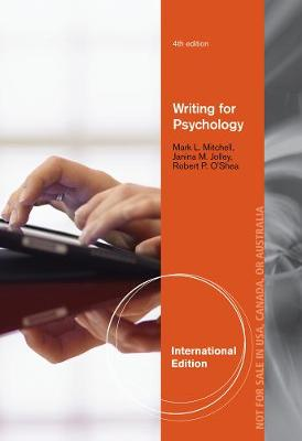 Writing for Psychology, International Edition (Paperback)