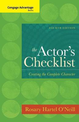 Cengage Advantage Books: The Actor's Checklist (Paperback)