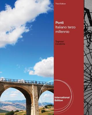 Ponti: Italiano terzo millennio, International Edition (Paperback)