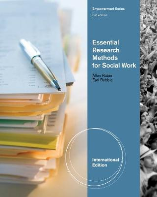 Essential Research Methods for Social Work, International Edition (Paperback)