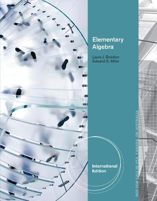 Elementary Algebra, International Edition (Paperback)