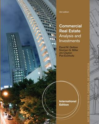 Commercial Real Estate Analysis and Investments