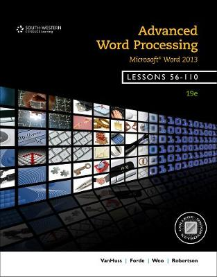 Advanced Word Processing, Lessons 56-110: Microsoft (R) Word (Spiral bound)