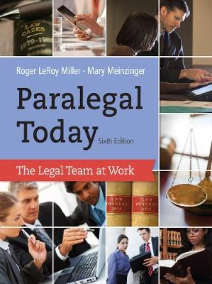Paralegal Today: The Legal Team at Work (Hardback)