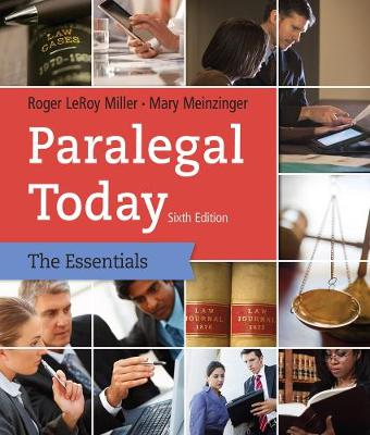 Paralegal Today: The Essentials (Paperback)