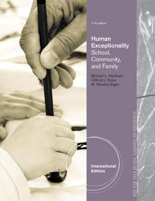 Human Exceptionality: School, Community, and Family, International Edition (Paperback)