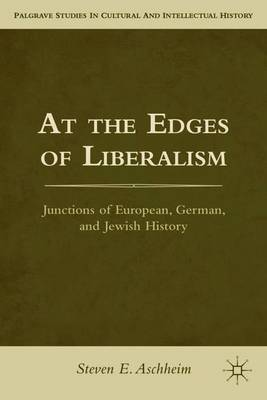 At the Edges of Liberalism: Junctions of European, German, and Jewish History - Palgrave Studies in Cultural and Intellectual History (Paperback)