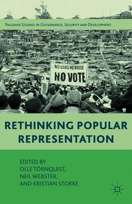 Rethinking Popular Representation - Governance, Security and Development (Paperback)