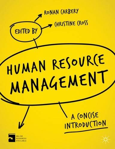 Human Resource Management: A Concise Introduction (Paperback)