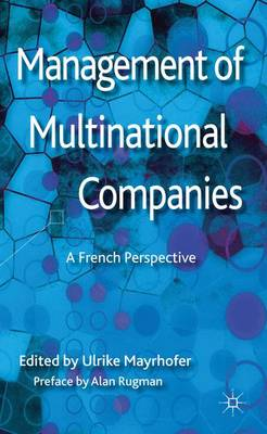 Management of Multinational Companies: A French Perspective (Hardback)