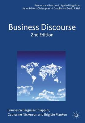 Business Discourse - Research and Practice in Applied Linguistics (Paperback)
