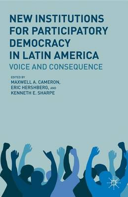 New Institutions for Participatory Democracy in Latin America: Voice and Consequence (Hardback)