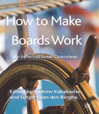 How to Make Boards Work: An International Overview (Hardback)