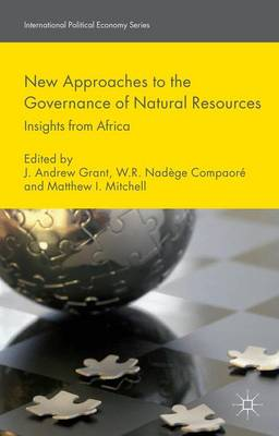 New Approaches to the Governance of Natural Resources: Insights from Africa - International Political Economy Series (Hardback)