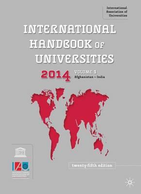 International Handbook of Universities (Hardback)