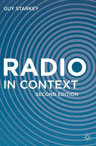 Radio in Context (Paperback)