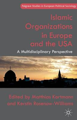 Islamic Organizations in Europe and the USA: A Multidisciplinary Perspective - Palgrave Studies in European Political Sociology (Hardback)