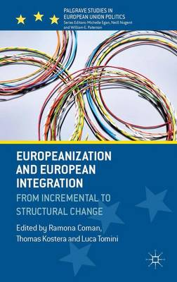 Europeanization and European Integration: From Incremental to Structural Change - Palgrave Studies in European Union Politics (Hardback)