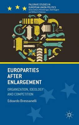 Europarties After Enlargement: Organization, Ideology and Competition - Palgrave Studies in European Union Politics (Hardback)