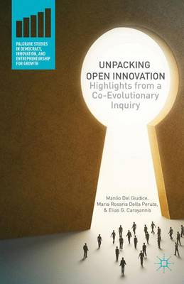 Unpacking Open Innovation: Highlights From a Co-Evolutionary Inquiry - Palgrave Studies in Democracy, Innovation, and Entrepreneurship for Growth (Hardback)