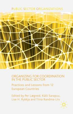 Organizing for Coordination in the Public Sector: Practices and Lessons from 12 European Countries - Public Sector Organizations (Hardback)