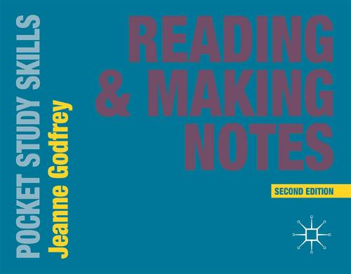 Reading and Making Notes - Pocket Study Skills (Paperback)