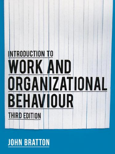 Introduction to Work and Organizational Behaviour (Paperback)