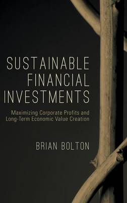 Sustainable Financial Investments: Maximizing Corporate Profits and Long-Term Economic Value Creation - The Diversity, Leadership and Responsibility Series (Hardback)