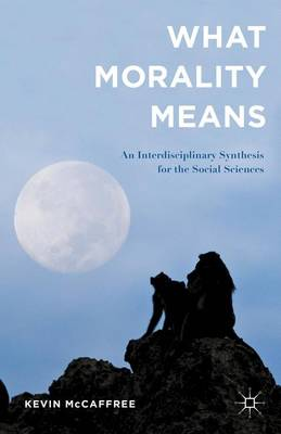What Morality Means: An Interdisciplinary Synthesis for the Social Sciences (Hardback)
