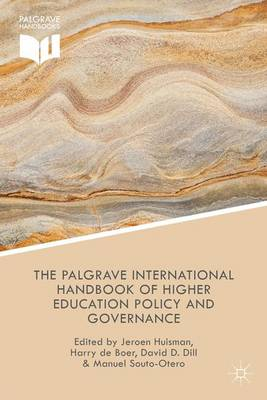 The Palgrave International Handbook of Higher Education Policy and Governance (Hardback)