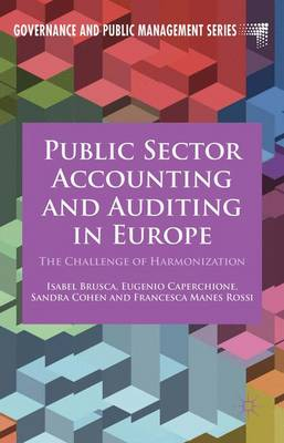 Public Sector Accounting and Auditing in Europe: The Challenge of Harmonization - Governance and Public Management (Hardback)