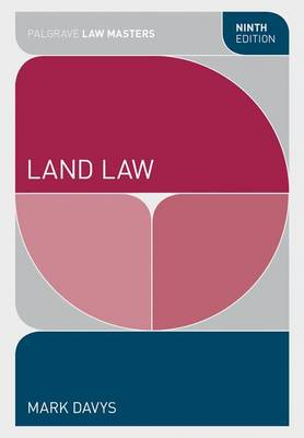 Land Law - Palgrave Law Masters (Paperback)