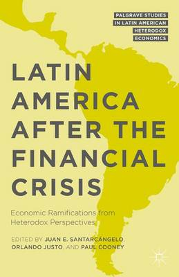 Latin America after the Financial Crisis: Economic Ramifications from Heterodox Perspectives - Palgrave Studies in Latin American Heterodox Economics (Hardback)