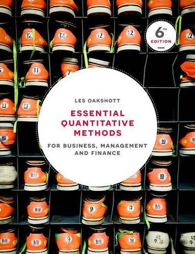 Essential Quantitative Methods: For Business, Management and Finance (Paperback)