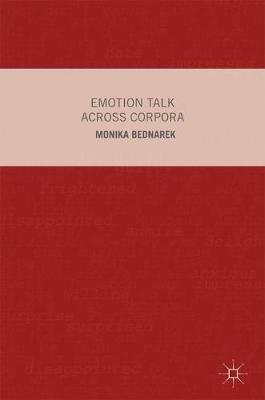 Emotion Talk Across Corpora (Paperback)