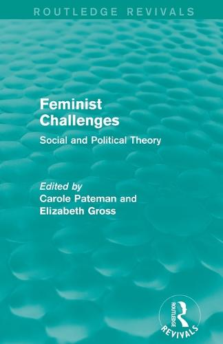 Cover Feminist Challenges: Social and Political Theory