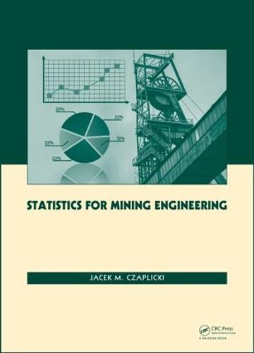 Statistics for Mining Engineering (Hardback)