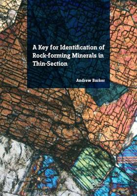 A Key for Identification of Rock-Forming Minerals in Thin Section (Paperback)
