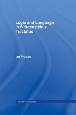 Logic and Language in Wittgenstein's Tractatus (Paperback)