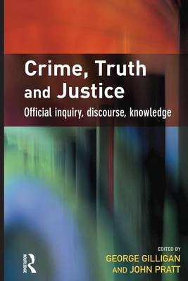 Crime, Truth and Justice (Paperback)